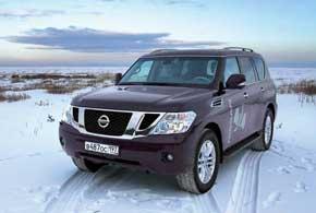 Новый Nissan Patrol седьмого поколения вышел в свет в2010 году.
