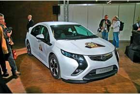 Opel Ampera/Chevrolet Volt удостоен титула Европейского автомобиля года.