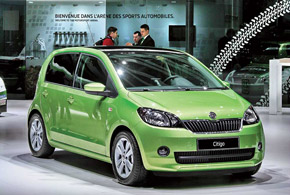 Skoda Citigo – первая попытка компании привлечь покупателей машин А-класса.
