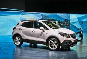 Opel Mokka, созданный на базе Corsa, – самый маленький немецкий кроссовер.