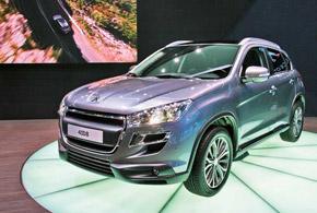 Peugeot 4008 прибудет в Украину вначале апреля с2,0-литровым бензиновым мотором (150л.с.), полным приводом, вариатором или 6-ступенчатой «механикой».