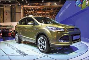Ford Kuga будет доступен со 140- и 163-сильными 2,0-литровыми турбодизелями, а также 1,6-литровым турбированным бензиновым мотором семейства EcoBoost.