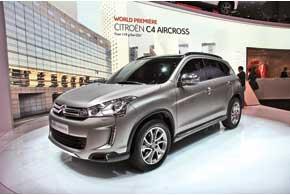 Citroёn C4 AirCross – очередной плод тесной кооперации PSA Peugeot-Citroёn иMitsubishi.