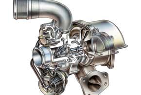 В Twin Scroll-е ротор-турбина эффективнее раскручивается во всем диапазоне оборотов, обеспечивая ровную тягу безтурбоямы.