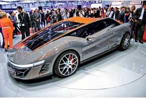К своему 100-летию ателье Bertone подготовило концепт Nuccio. Купе оснащено 4,3-литровым 480-сильным V8.