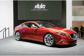 Концепт Takeri является прообразом нового поколения Mazda6. Под капотом – 2,2-литровый 175-сильный турбодизель.