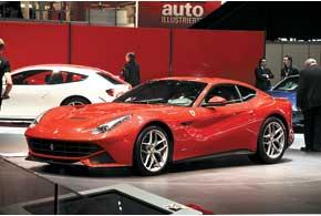 Ferrari F12berlinetta – новое 12-цилиндровое купе из Маранелло. Атмосферный 6,3-литровый мотор выдает 740сил и позволяет развить скорость до 340 км/ч. Разгон до первой «сотни» – 3,0с.