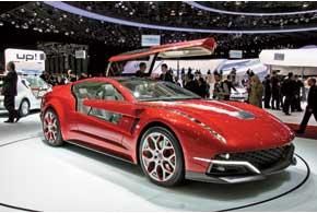 Четырехместное купе Brivido оснащено гибридным силовым агрегатом суммарной мощностью 408л.с. и разгоняется до 275 км/ч.