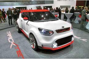 Европейская версия концепта Kia Track'ster получила 1,6-литровый турбомотор снепосредственным впрыском мощностью 215сил.