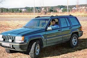 Первый краш-тест. Jeep Grand Cherokee
