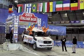 В Италии команда Sixt Ukraine выступила на свежепостроенной, причем своими силами, Toyota Land Cruiser200.