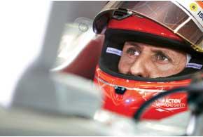 Михаэль Шумахер связывает с новым болидом Mercedes огромные надежды. И первый Гран-при сезона показал, что не зря.