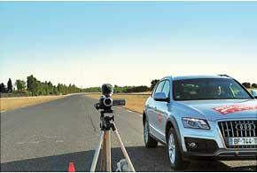 Для лучшего контроля поведения машин на зауженной «переставке» приходится применять даже видеонадзор.