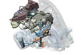 О роботизированных механических коробках передач мы впервые написали в 1998 году, называя их гибридными. Гидравлический привод SMG, пристроенный к сцеплению и обычной шестиступенчатой «механике» BMW M3, был призван cпособствовать быстрой езде, сокращая время переключения передач.