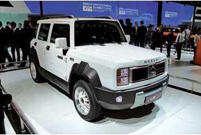 Gleagle GX5 – 4-местный концепт субкомпактного (длина 4,02 м) SUV для молодежи.