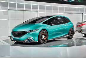 Honda Concept S – прообраз новой серийной модели длякитайского рынка, которая поступит в продажу в следующем году.