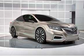 Honda Concept C дает представление еще об одной модели длякитайского рынка, но уже с популярным здесь кузовом седан.