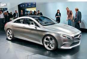 Mercedes-Benz Concept Style Coupe является предшественником нового спортседана, который будет располагаться на ступеньку ниже, чем модель CLS.