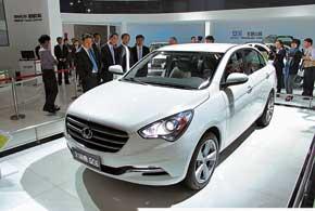 Gleagle GC6 – перспективная модель нового семейства С-класса.