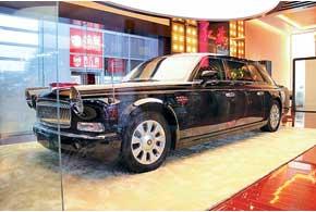 Уникальный бронированный Hongqi CA7600L с 6,0-литровым V12 (408л.с.) оценивается в $800 тысяч. Он построен для руководителя КНР ХуЦзиньтао.
