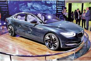Brilliance Greater China II – сиквел прошлогоднего концепта Greater China. Он оснащен 180-сильным 2,0-литровым турбомотором и6-ступенчатой роботизированной КП.