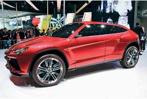 Lamborghini Uruz– прототип будущего SUV, который, помнению создателей, станет самой продаваемой моделью марки.