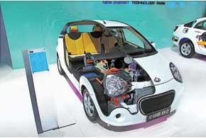 Gleagle EK-2 оборудован электромотором (70кВт) и литий-ионной батареей. Запас хода – 120 км.
