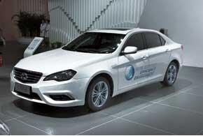 BAIC C70GB – полностью электрифицированная версия новой модели C70G, которая использует платформу Saab.