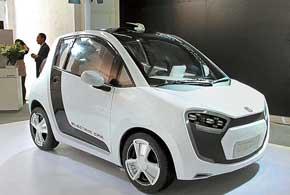 Исследовательская компания CH-Auto представила электромобиль Cylent c электромотором (6кВт) и литий-ионной батареей.