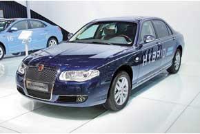 Roewe 750 Hybrid унаследовал от обычной версии 1,8-литровый 160-сильный ДВС, а вспомогательный электромотор позволяет экономить до 20% топлива.