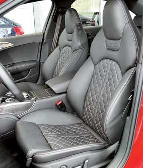 Тест-драйв Audi S6 Sportback, Audi S7