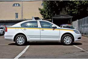 Служебные автомобили спецподразделения ГАИ (бывшая «Кобра»)