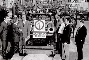 Строительство завода стартовало в 1966 году. 20 октября 1969 года на заводе собрали первый автомобиль – Ford Escort, а в 1970-м началось серийное производство модели; за 18 лет тираж Escort составил более 6,5 млн. экземпляров.