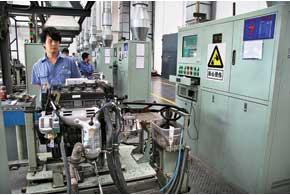 Каждый собранный двигатель на заводе Lifan обкатывают 13 минут в разных режимах: 800, 1800, 2500 об/мин.