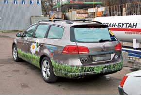 VW Passat 1,8 TSI сГБО Vialle шестого поколения является презентационным и учебным пособием консультантов «Сервис Газ Украина».