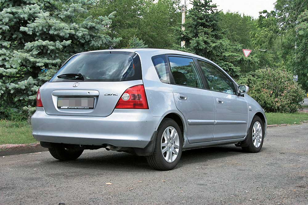 honda civic до 2001 года