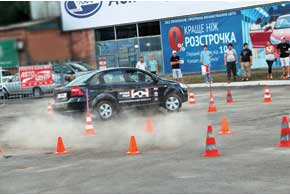 «Лучший водитель Украины 2012» в Донецке