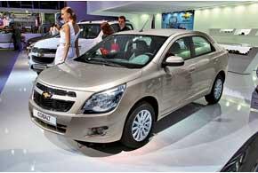 Седан Chevrolet Cobalt – прямой конкурент ЗАЗ Vida седан на российском рынке. Авто создано для развивающихся рынков и уже продается в Бразилии.