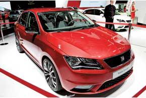 Seat Toledo Concept показывает, как будет выглядеть бюджетный седан отиспанской марки на платформе Skoda Rapid.
