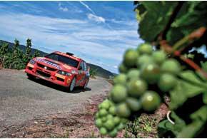 Несмотря на множество проблем в гонке, Валерий Горбань добрался до финиша. За два этапа до окончания чемпионата он занимает третье место в зачете P-WRC.