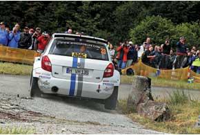 Андреас Миккельсен произвел сенcацию, показав третий результат на зачетном PowerStage. Он стал первым в истории пилотом, заработавшим здесь баллы наавто категории Super2000.