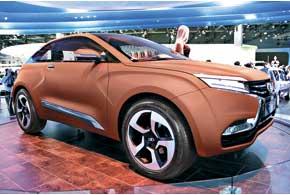 Четырехместный концептуальный  кроссовер Lada XRAY «нарисован» бывшим дизайнером Volvo  Стивом Маттином.