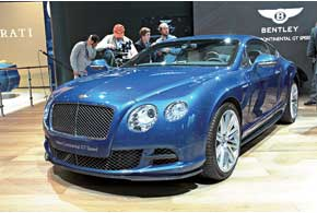 Continental GT Speed – самый быстрый серийный Bentley за всю историю британского бренда, он разгоняется до 329 км/ч.