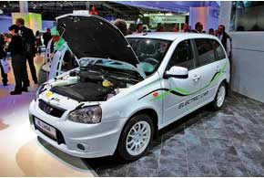 ELLada – первый в истории «АвтоВАЗа» серийный электромобиль.