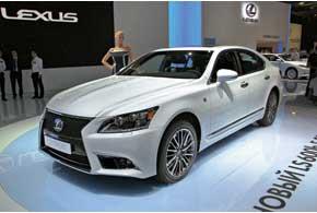Европейская премьера от Lexus– новое поколение флагманского семейства LS, втомчисле первая вистории спортивная версия LS 600h F.
