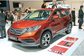 Европейская версия Honda CR-V нового поколения будет доступна в 2013 г.