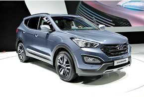 Hyundai Santa Fe третьего поколения будет доступен в двух версиях – 5- и 7-местной, а также с новыми двигателями и КП.