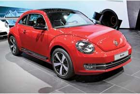 Российские поклонники марки Volkswagen смогли оценить новый Beetle.