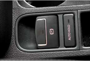 Электрический стояночный тормоз с функцией автоснятия – часть серийного оснащения всех без исключения Tiguan...