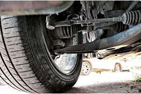 Наконечники рулевых тяг на наших дорогах служат недолго –  60–70 тыс. км.